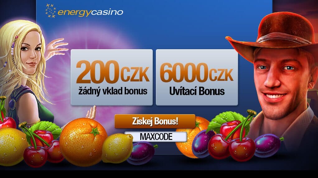 Energy Casino Promo kód