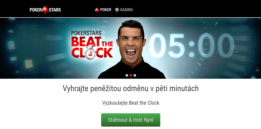 Pokerstars a Christiano Ronaldo